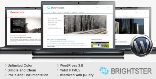 22_Brightster - Clean Business WordPress Theme