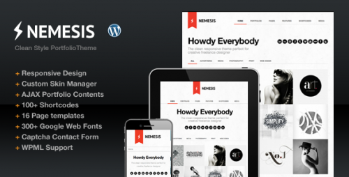 25_Nemesis Clean Design For Creative Designer