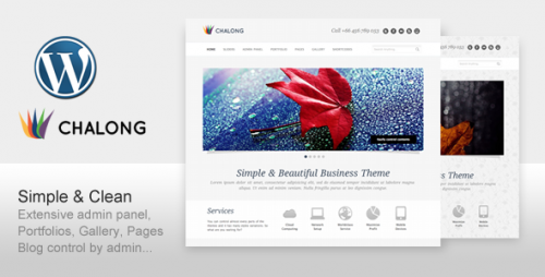 26_Chalong - Simple and Clean for Business Portfolio