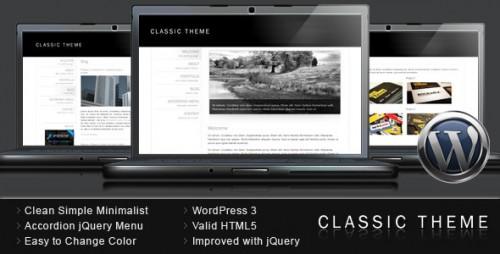 29_Classic Theme - Simple Clean Minimalist WordPress
