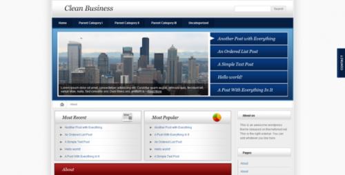 30_Clean Business - Wordpress Version