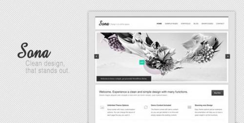 33_Sona Clean WordPress Theme