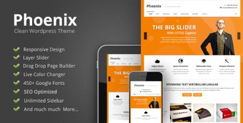 35_Phoenix - Clean Responsive Wordpress Theme