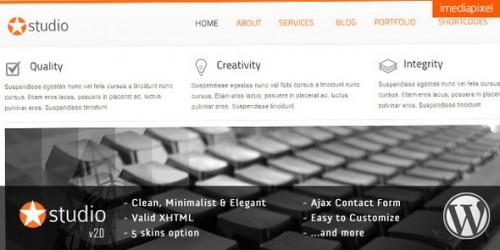 41_istudio - Clean and Minimalist Business Theme