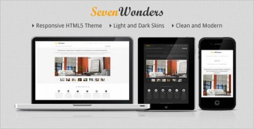 42_SevenWonders - Clean Responsive WordPress Theme