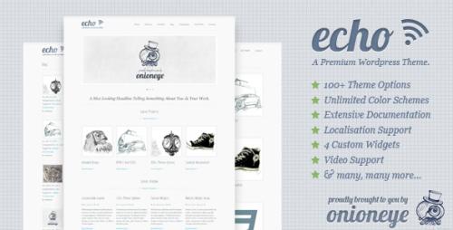 44_Echo - Clean and Simple WordPress Portfolio Theme