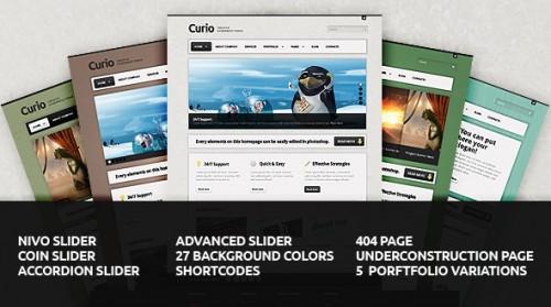 46_Curio - Clean & Creative Wordpress Theme