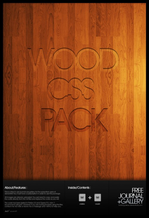 46_Wood CSS Pack