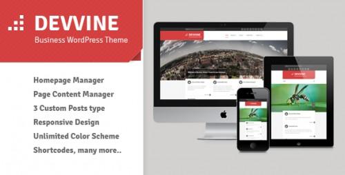 48_Devvine - Clean Business WordPress Theme