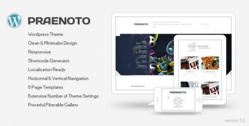 49_Praenoto - Clean & Minimalist WordPress Theme