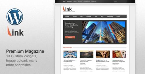52_Link - Clean Magazine Blog Newspaper Template