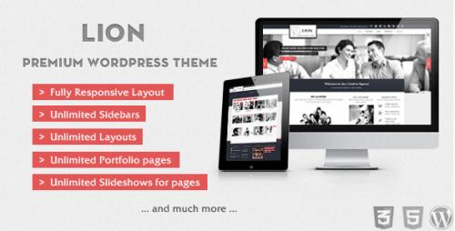 56_Lion - Clean & Modern Wordpress Theme