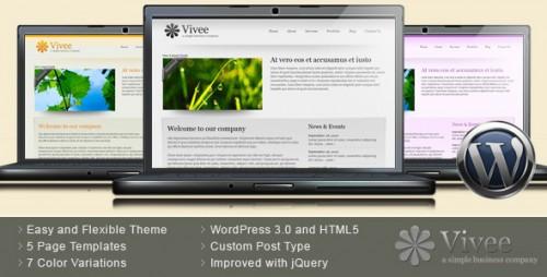 57_Vivee - Clean Business WordPress Theme - 7 Color