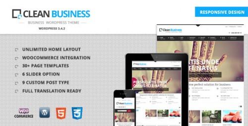 59_Clean Business - Business Wordpress Theme