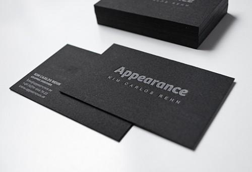 7_Black Letterpress Design