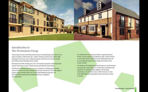 49_Woodside Quarry Brand, Brochure Design