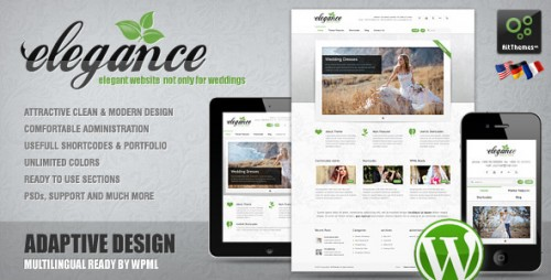 19_Elegance - Clean and Modern Wordpress Theme