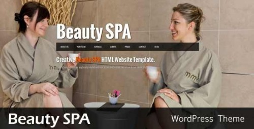 24_Beauty SPA - Ajaxified WordPress CMS Theme