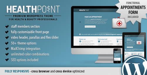 25_Health Point - Responsive WordPress Landing Page