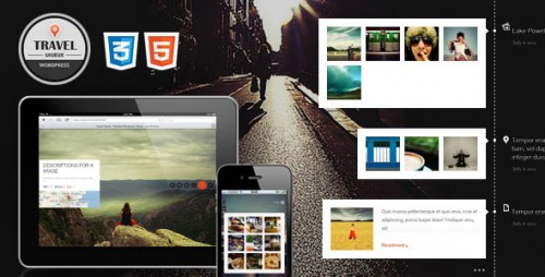 26_Travel Fullscreen, Responsive WordPress Theme