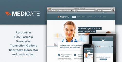 2_Medicate - Responsive Medical and Health Theme
