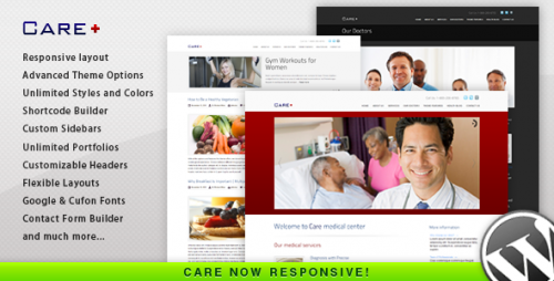 43_Care - Medical and Health Blogging Wordpress Theme