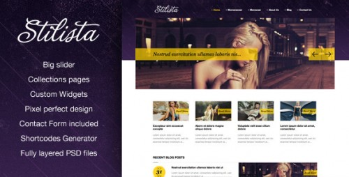 44_Stilista WordPress Theme