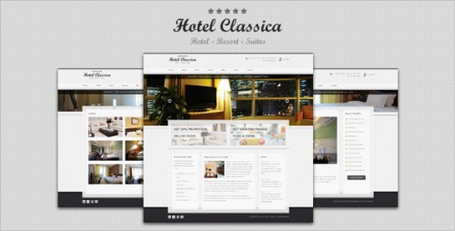 45_Hotel Classica - Clean Minimalist WordPress Theme