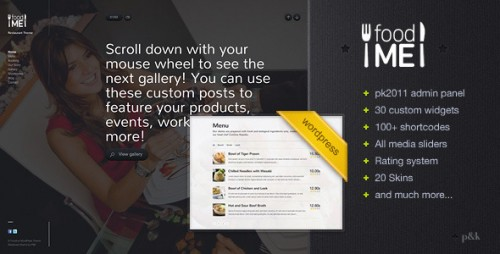 46_WordPress FoodMe Restaurant Business Theme