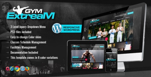 5_Gym Extream - Gym and Fitness Wordpress Theme
