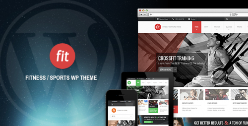 9_FIT - Fitness, Gym Responsive WordPress Theme