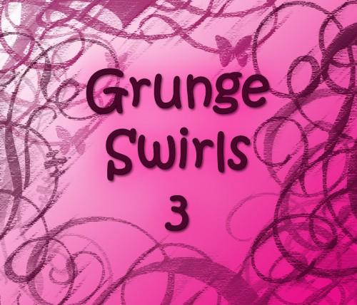 10 Free Grunge Swirl Brushes