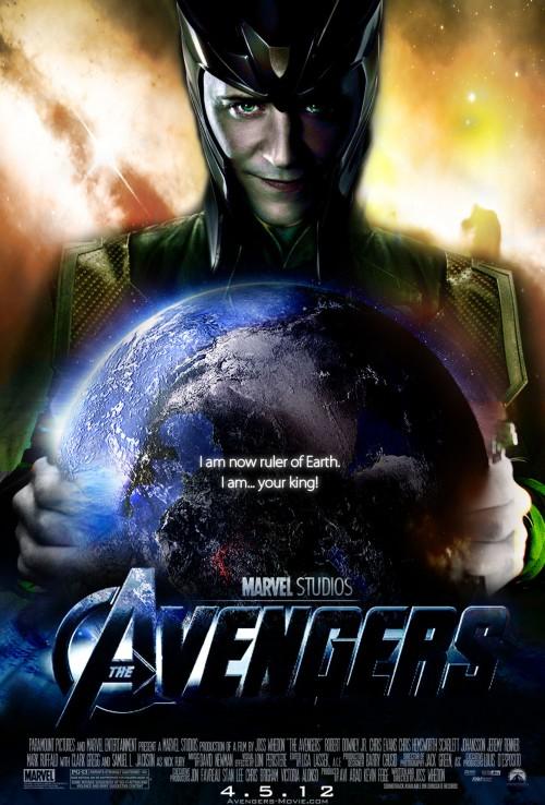 The Avengers Movie Poster Loki