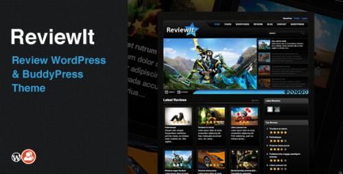 ReviewIt - WordPress & BuddyPress Theme