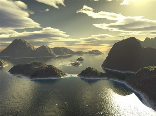 Archipelago II Terragen