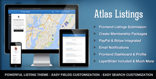 Atlas Directory & Listings WordPress Theme