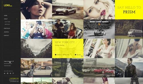 LENS - Photography WordPress Theme