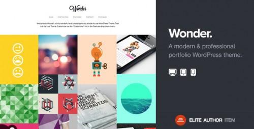 Wonder - WordPress Portfolio Theme