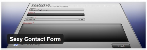 Sexy Contact Form