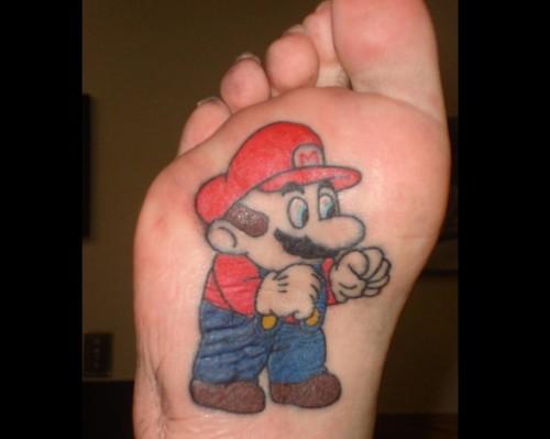 Amazing Cartoon Character Tattoos