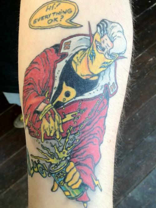 Cool Paradax Tattoo Design Ideas