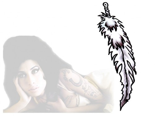 Feather Amy Winehouse