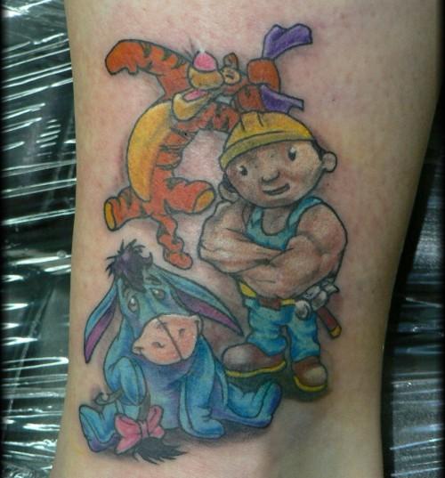 Sue's Cartoon Tattoo Trend 2014
