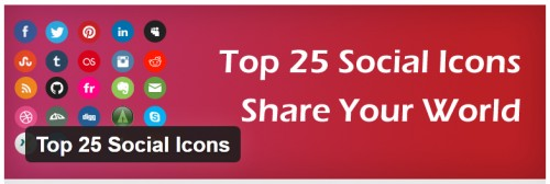 Top 25 Social Icons