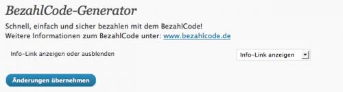 BezahlCode-Generator