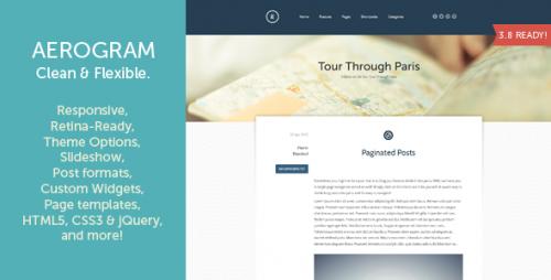Aerogram - Responsive Retina-Ready WordPress Theme