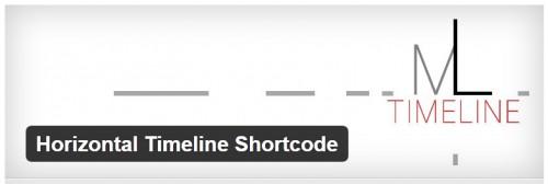 Horizontal Timeline Shortcode