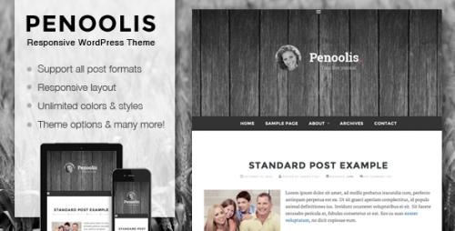 Penoolis - Responsive Personal Blog Theme