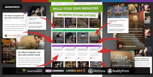 Quadrum - Multipurpose News&Magazine Theme