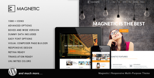 Magnetic - Creative Responsive Multi-Purpose Theme
